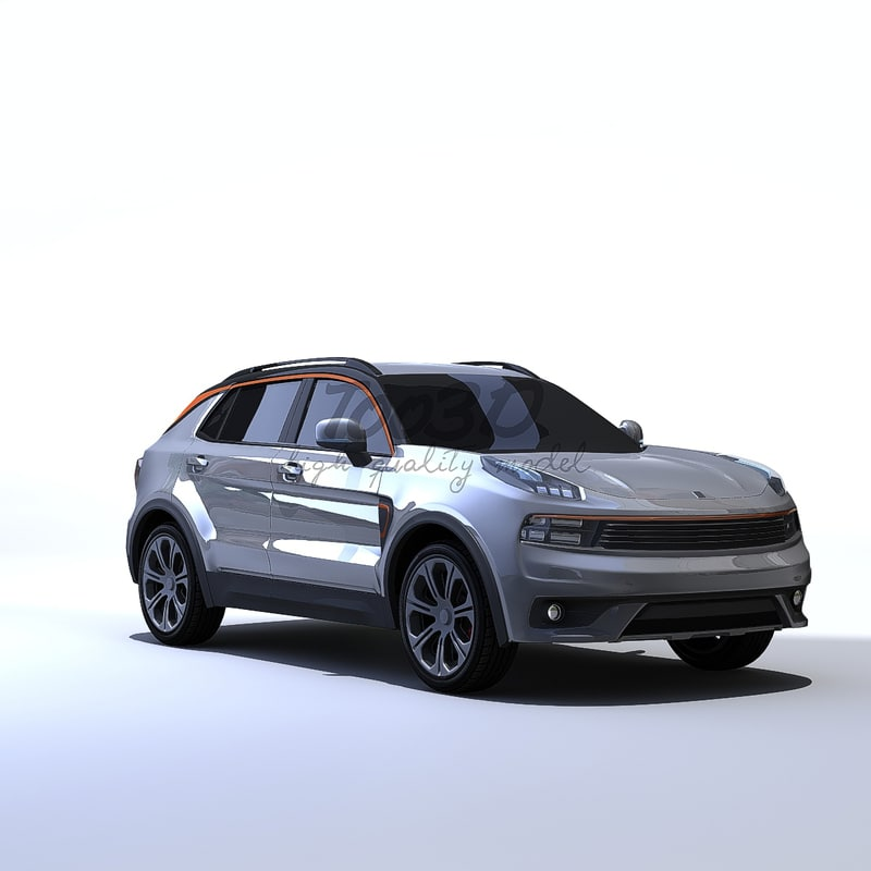 suv 01 3d model