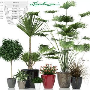 plants lechuza classico 3d model