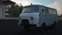 3d old van model
