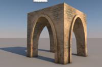 3d arabic arc