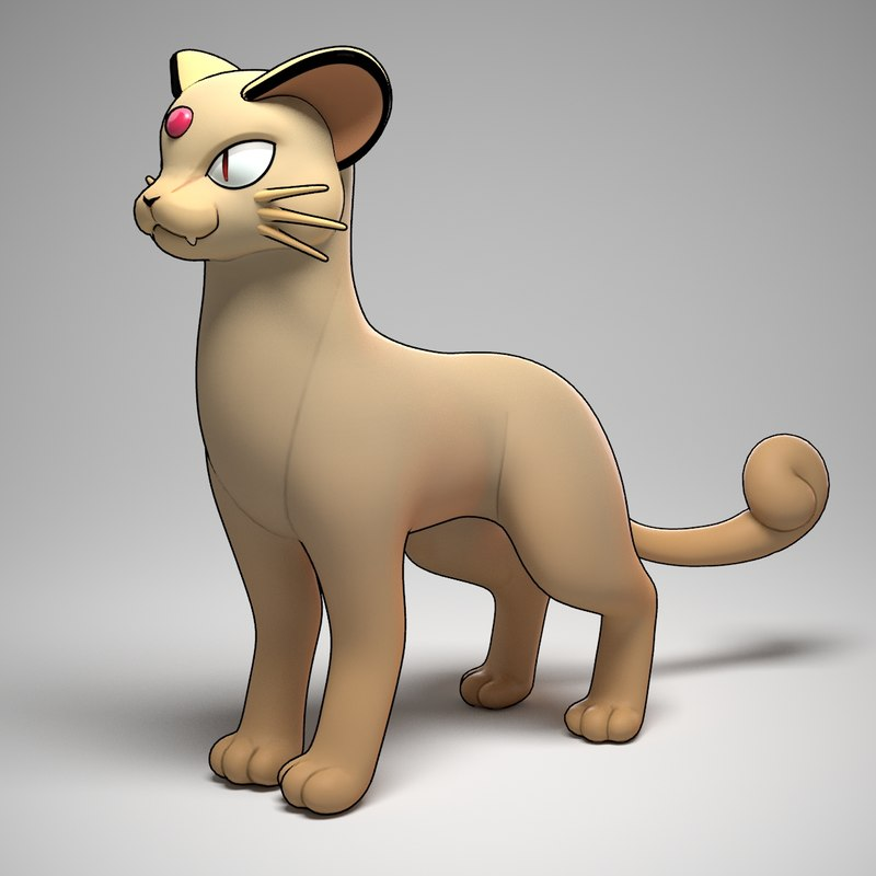 3d persian pokemon
