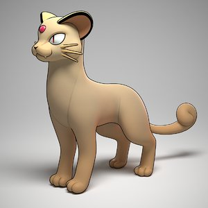 3d persian pokemon