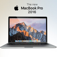3d model apple macbook pro 2016