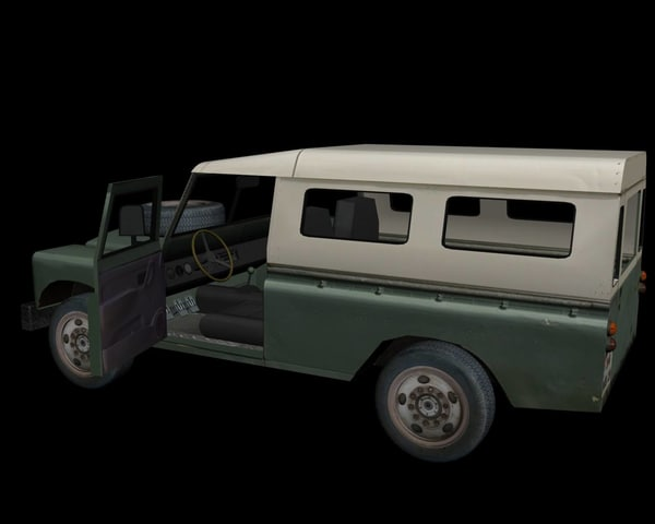 3d model land vehicle