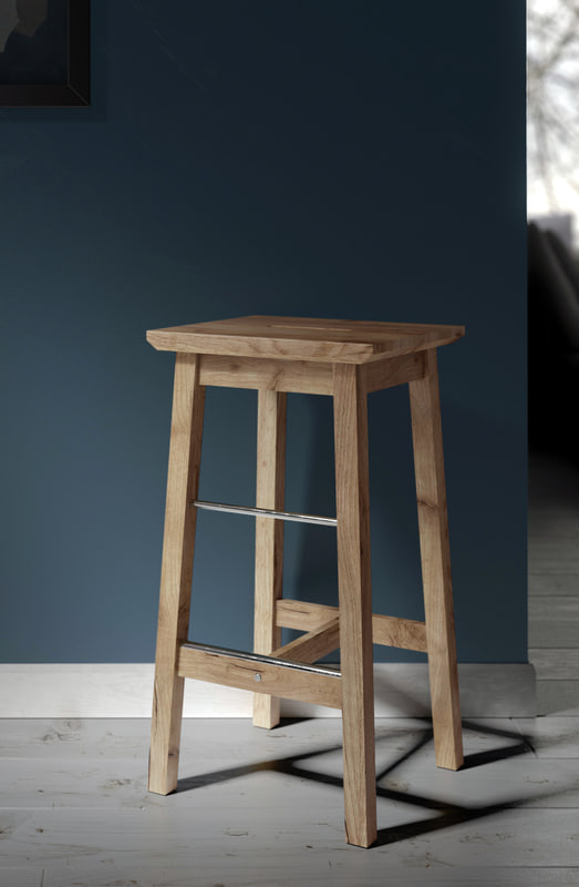 3d model of ikea bosse stool
