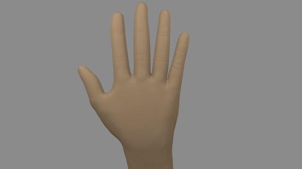 hand blender 3d 3ds