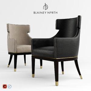 hercule dinning chair blainey 3d max