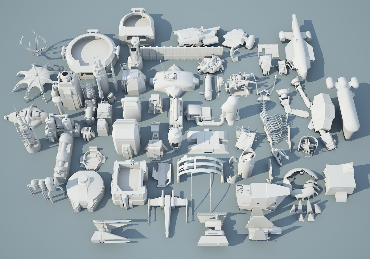 3d ready 66 star wars model