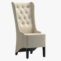 3d model bright home selway chair