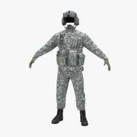 helicopter pilot uniform camo obj