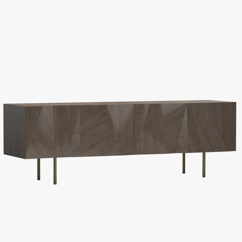 3d cabinet 01 model