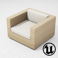fbx patio furniture ue4