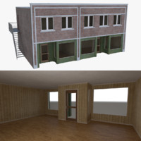 3d model store interior buildings