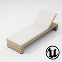 3d patio furniture ue4
