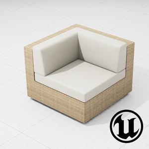 x patio furniture ue4