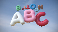 Balloon Alphabet