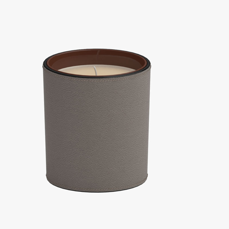 3d model candle 02