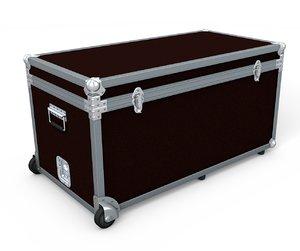 3d model flightcase adjustable