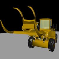 tractor logging obj