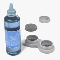 3d contact lenses