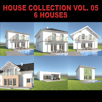 family homes house 3d max