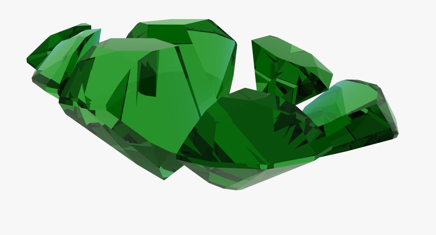 gem seven chipped 3d max