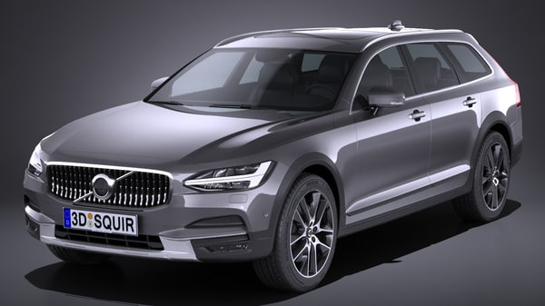 v90 cross country 3d model