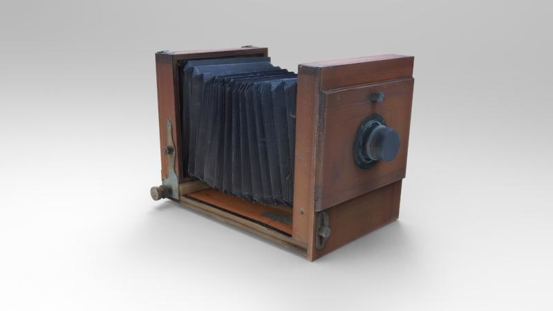 3d old camera
