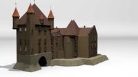 3d marusevec castle games engraving model