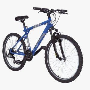 3d model gt aggressor mountain bike