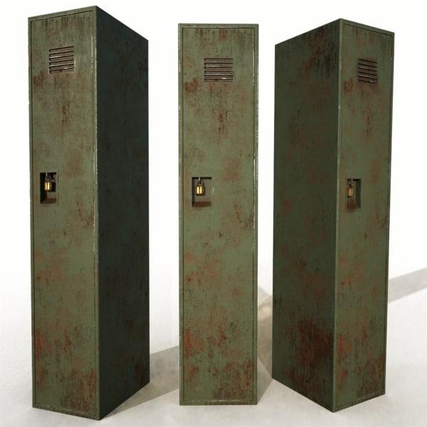 old rusty locker 3ds