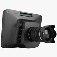 3d model blackmagic studio camera