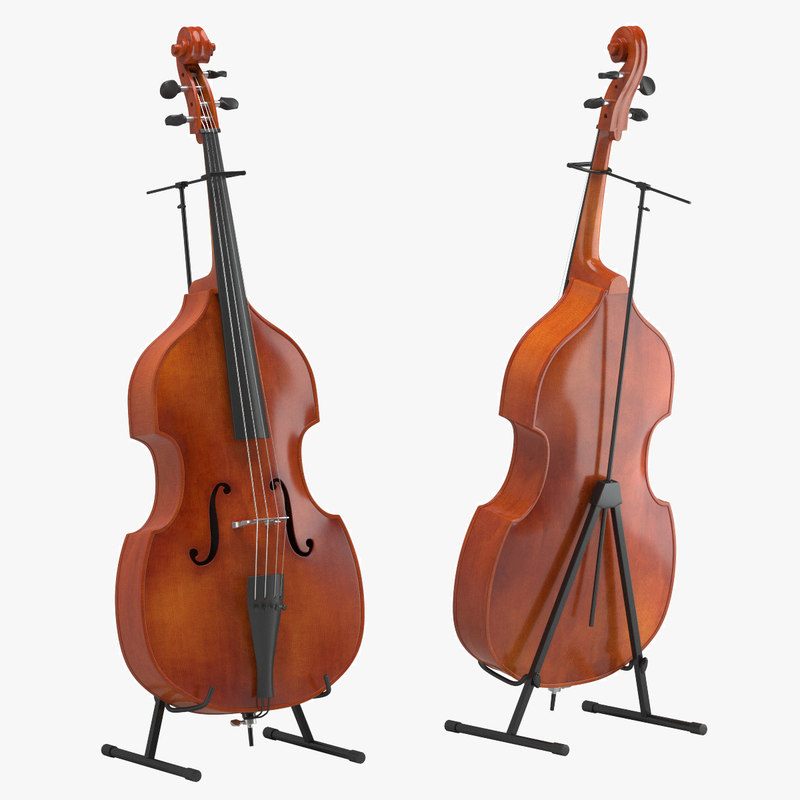 3d model of cello 01