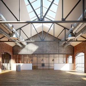 industrial warehouse interior max