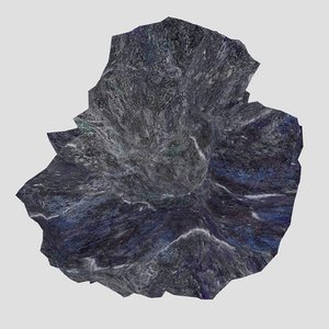 3d rock stone 04