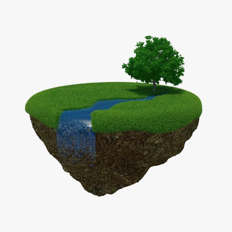 river island 3d model