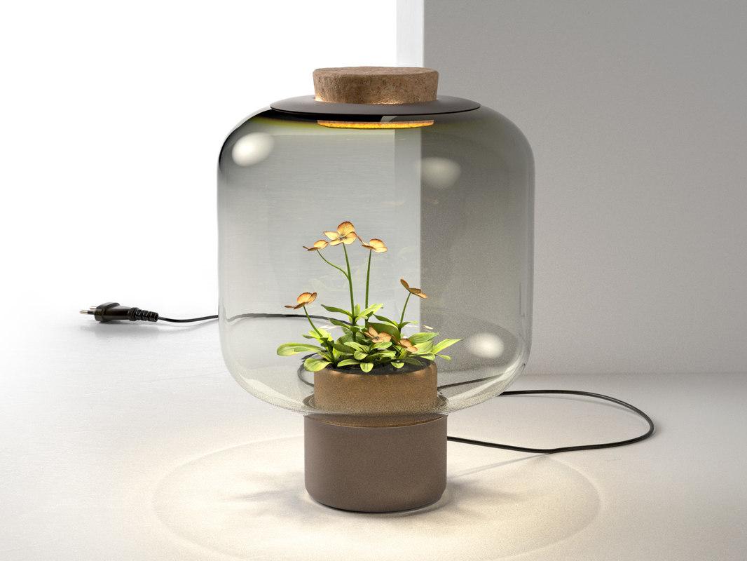 mygdal plant lamp light 3d model