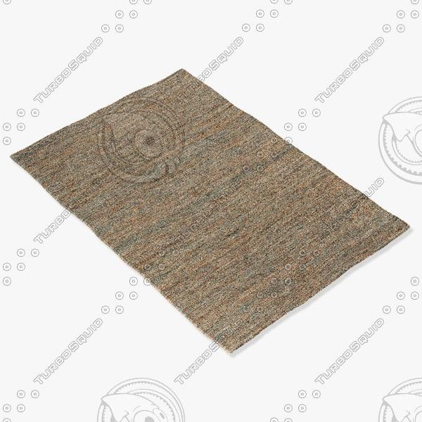 amara rug smart flat 3d model