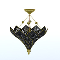 3d arabic lamp lighting model