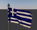 greece flag 3D models