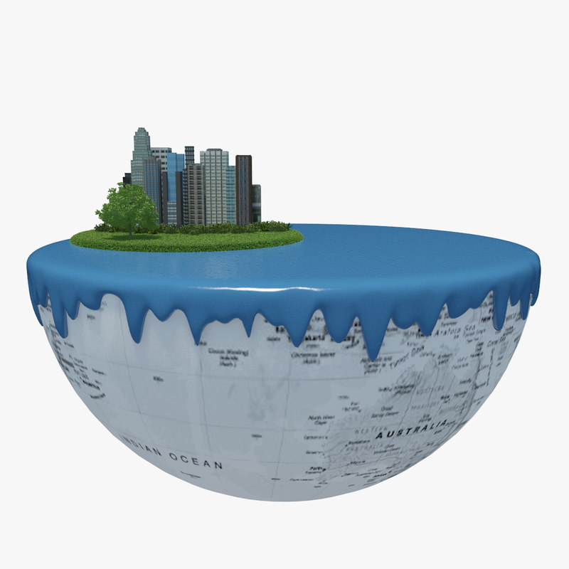 earth green peace 3d model