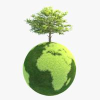 3d planet green