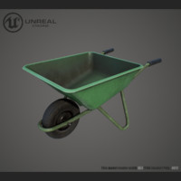 3d wheelbarrow ue4 unreal