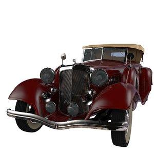 3d model hrysler imperial 1932