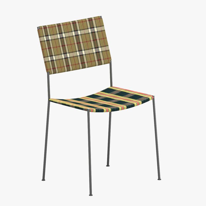3d model chair 27