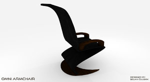 omni armchair 3d model