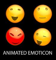 c4d emoticon animation