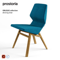 Oblique Dinning Chair by PROSTORIA