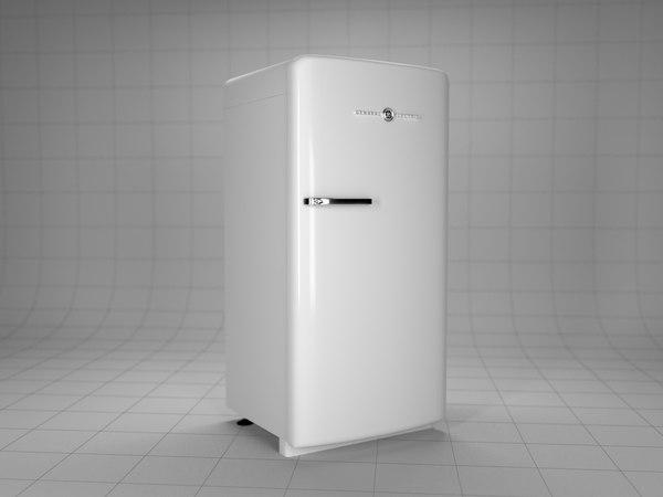 ge white 3d model