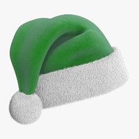 3d christmas hat 2 fur